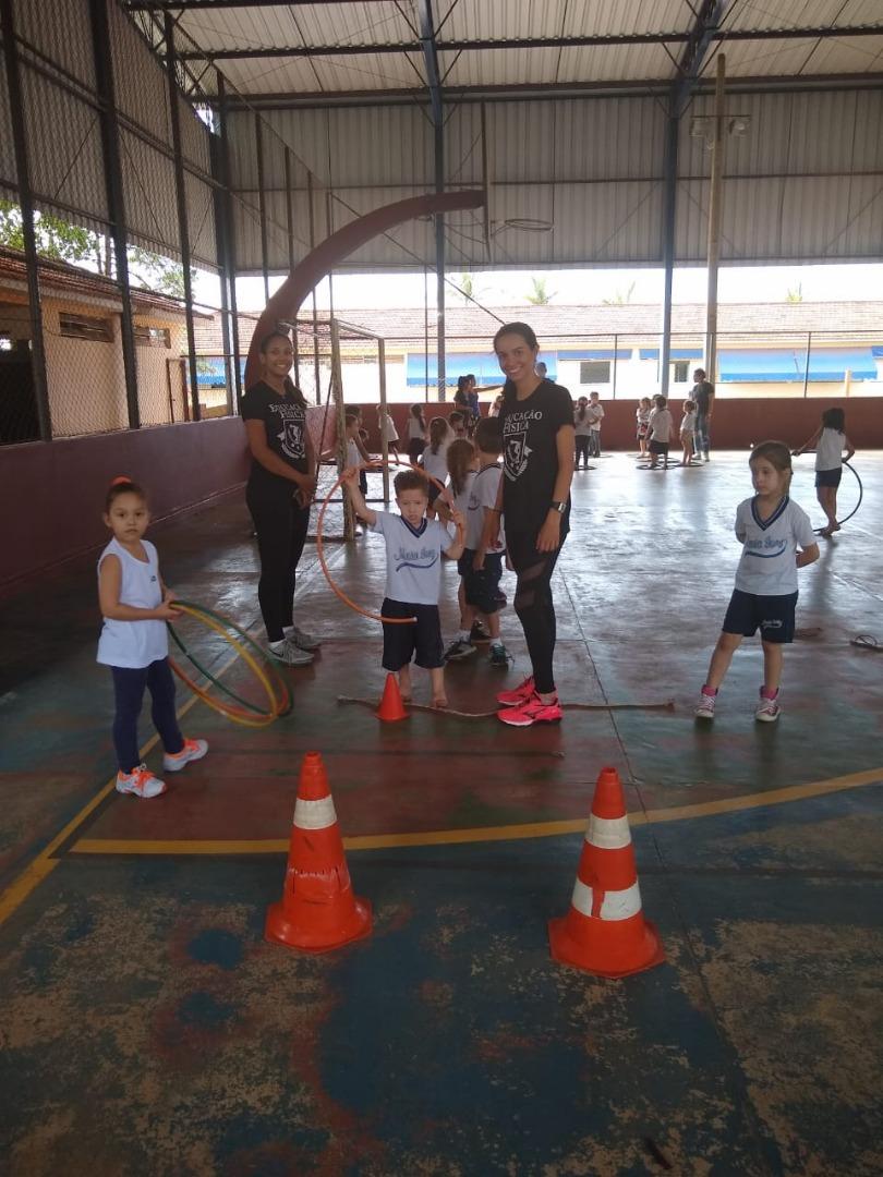 ed7875e4e4 O curso de Educação Física da Faculdade Patos de Minas realizou na tarde do  dia 09 de outubro o II Projeto Criança em Movimento